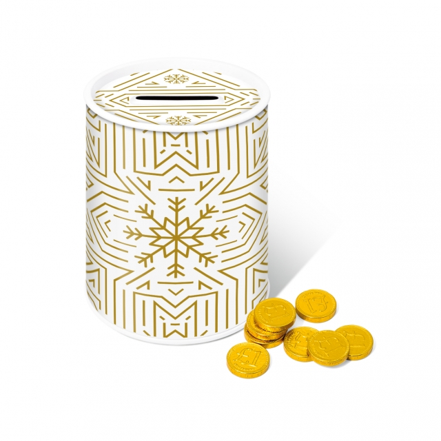 Winter Collection – Money Tin – Chocolate Coins