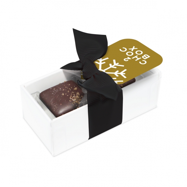 Winter Collection – 2 Choc Box – Dark Chocolate Salted Caramels