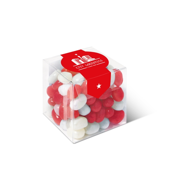 Clear Cube – Jelly Bean Factory®