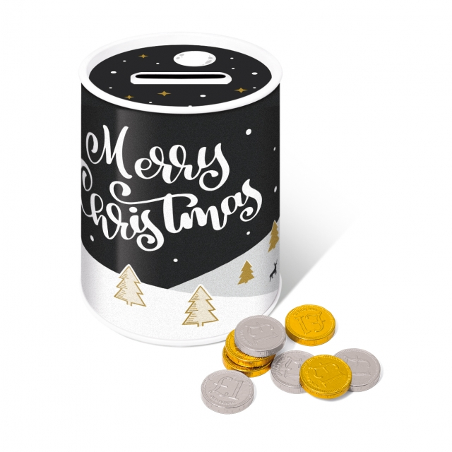 Winter Collection 2020 – Money Tin – Chocolate Coins