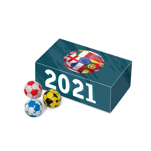 Euro 2021 – Eco Maxi Box – Chocolate Footballs